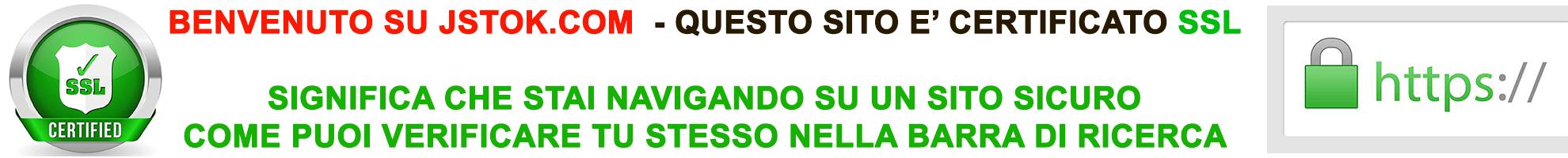 SITO SICURO CERTIFICATO SSL - HTTPS